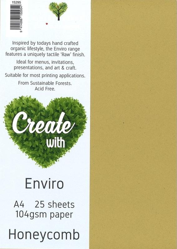 Enviro Paper A4 104gsm - Honeycomb (25 Pack)