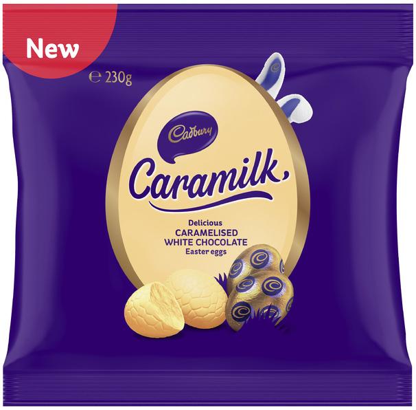 Cadbury Caramilk Eggs Bag 230g