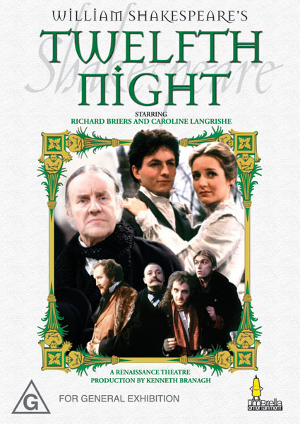 Twelfth Night on DVD