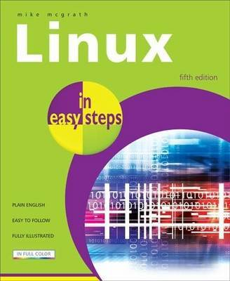 Linux in easy steps by Mike McGrath image