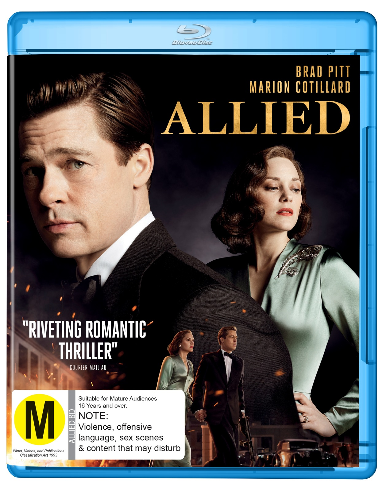 Allied Blu Ray In Stock Buy Now At Mighty Ape Nz