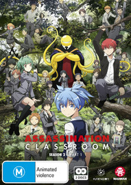 Assassination Classroom: Season 2 - Part 1 (Eps 1-13) on DVD