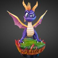 Spyro: Spyro the Dragon Statue