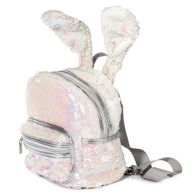Sequin Bunny Ears Backpack