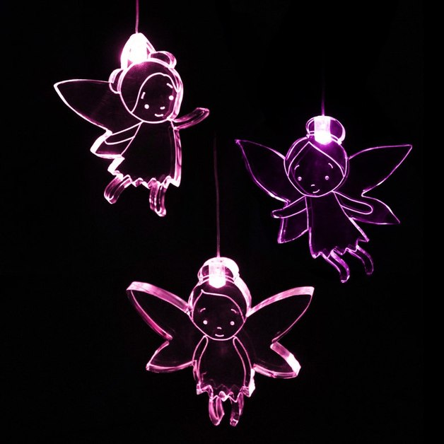 Mobile Night Light with Time - Fairy