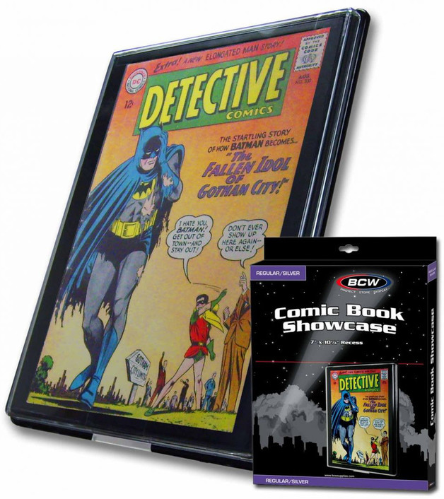 BCW: Comic Book Showcase - Silver (Standard)
