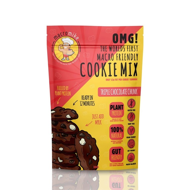 Macro Mike Baking Mix Cookies - Triple Choc Cookies (300g)