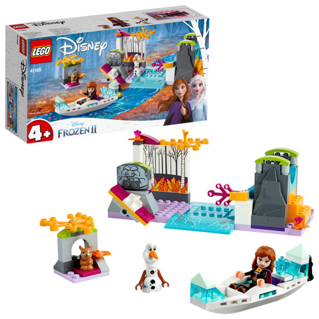 LEGO Disney: Frozen II - Anna's Canoe Expedition (41165)
