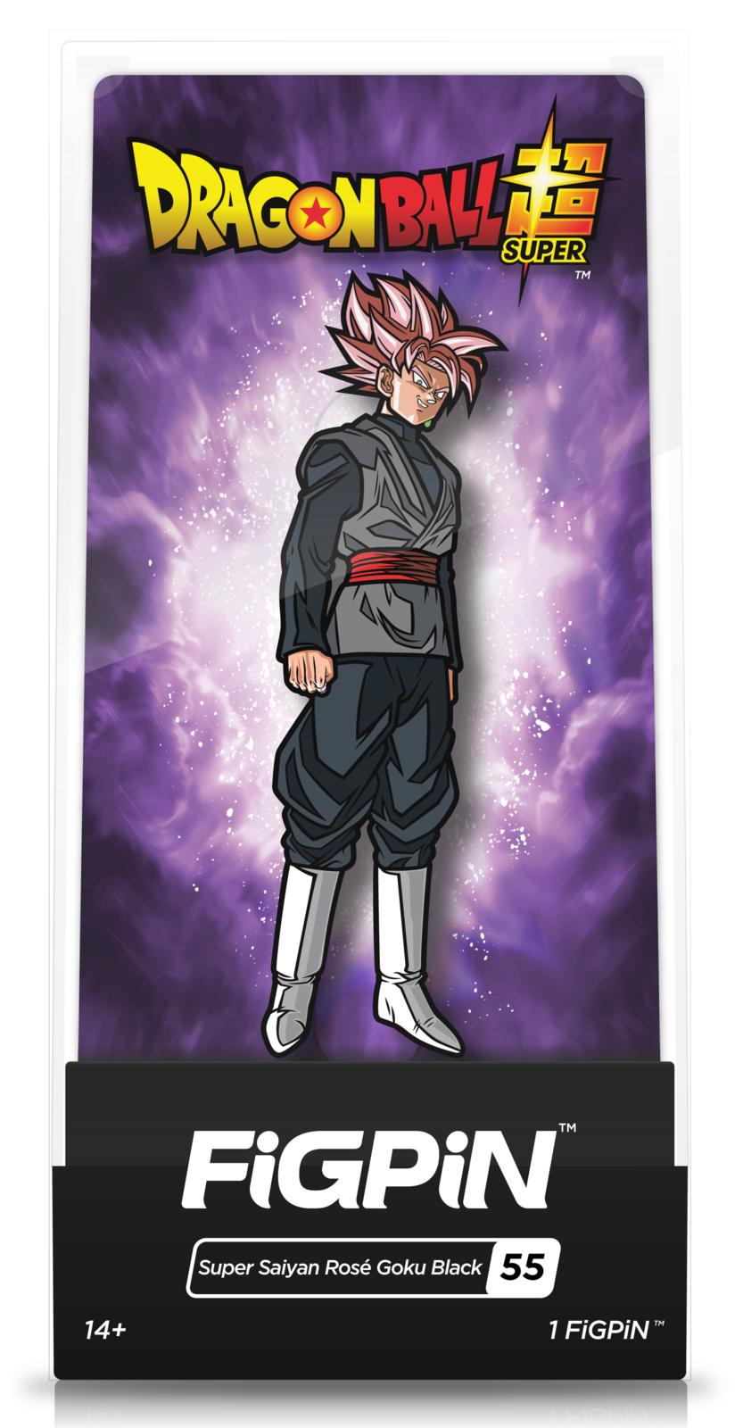 Dragon Ball Super: SS Rose Goku Black (#55) - FiGPiN image