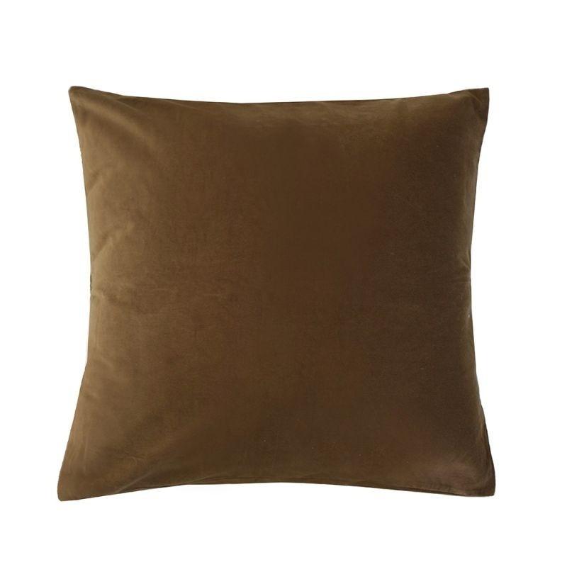 Bambury: Velvet European Pillowcase - Hazel image