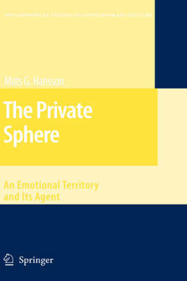 The Private Sphere by Mats G Hansson