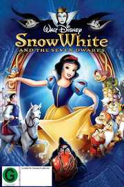 Snow White and the Seven Dwarfs on DVD image