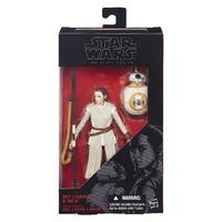 Star Wars The Black Series 6 Inch Rey (Jakku) & BB-8 Action Figure