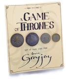 Game of Thrones: House Greyjoy Coin Collection - Set of 4