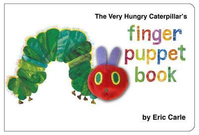 The Very Hungry Caterpillar Finger Puppet Book by Eric Carle image