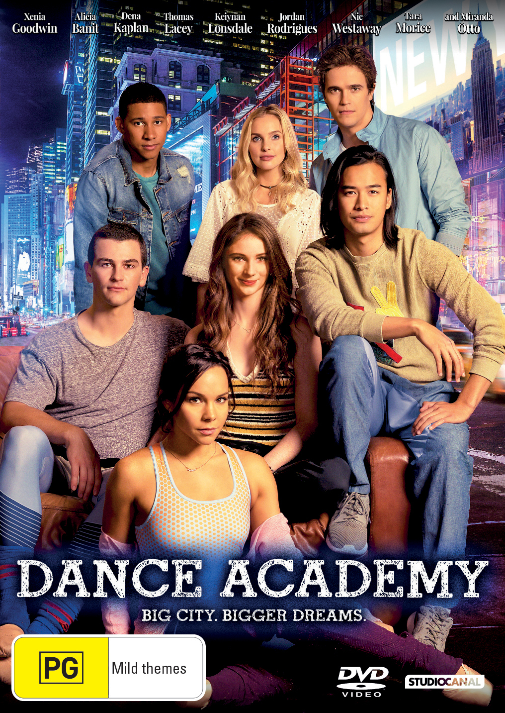 Dance Academy: The Movie on DVD image