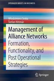 Management of Alliance Networks by Wlodzimierz Sroka