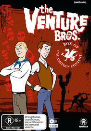 The Venture Bros: Box Of Calamitous Content (Seasons 1-6) on