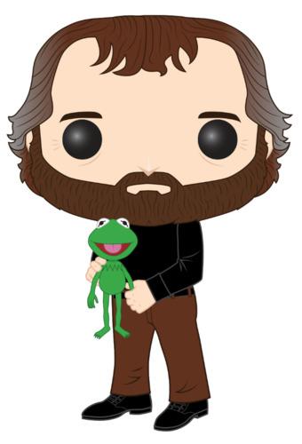 Muppets: Jim Henson (with Kermit) - Pop! Vinyl Figure