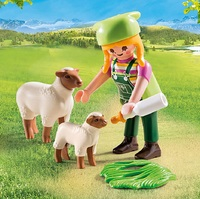 Playmobil: Special Plus - Farmer with Sheep (9356) image