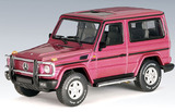 AUTOart '80's - '90's Mercedes-Benz G Model SWB 1:43 Die-cast Model - Purple