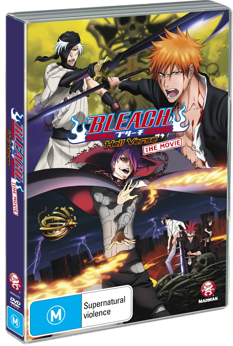 Bleach the Movie 4: Hell Verse on DVD image
