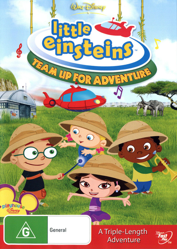 Little Einsteins - Team Up For Adventure on DVD