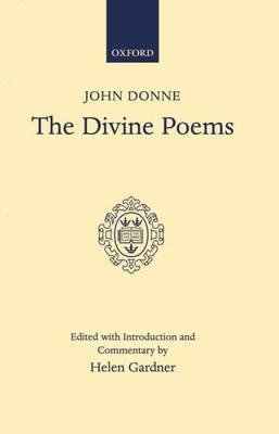 The Divine Poems by John Donne image