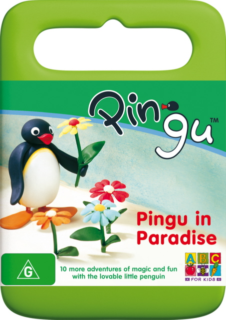 Pingu - Pingu In Paradise on DVD image