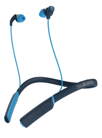 Skullcandy Method Wireless Earbuds w/mic - Navy/Blue/Blue