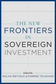 The New Frontiers of Sovereign Investment
