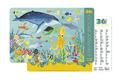 Crocodile Creek 2-Sided Placemat - Ocean Animals