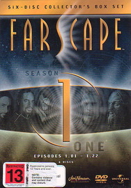 Farscape - Season 1 (6 Disc Slimline Set) on DVD image