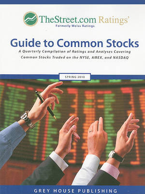 TheStreet.com Ratings' Guide to Common Stocks: A Quarterly Compilation of Ratings and Analyses Covering Common Stocks Traded on the NYSE, AMEX and NASDAQ image