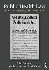 Public Health Law by John Coggon