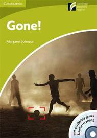 Gone! Starter/Beginner American English Book with CD-ROM and Audio CD Pack by Margaret Johnson image