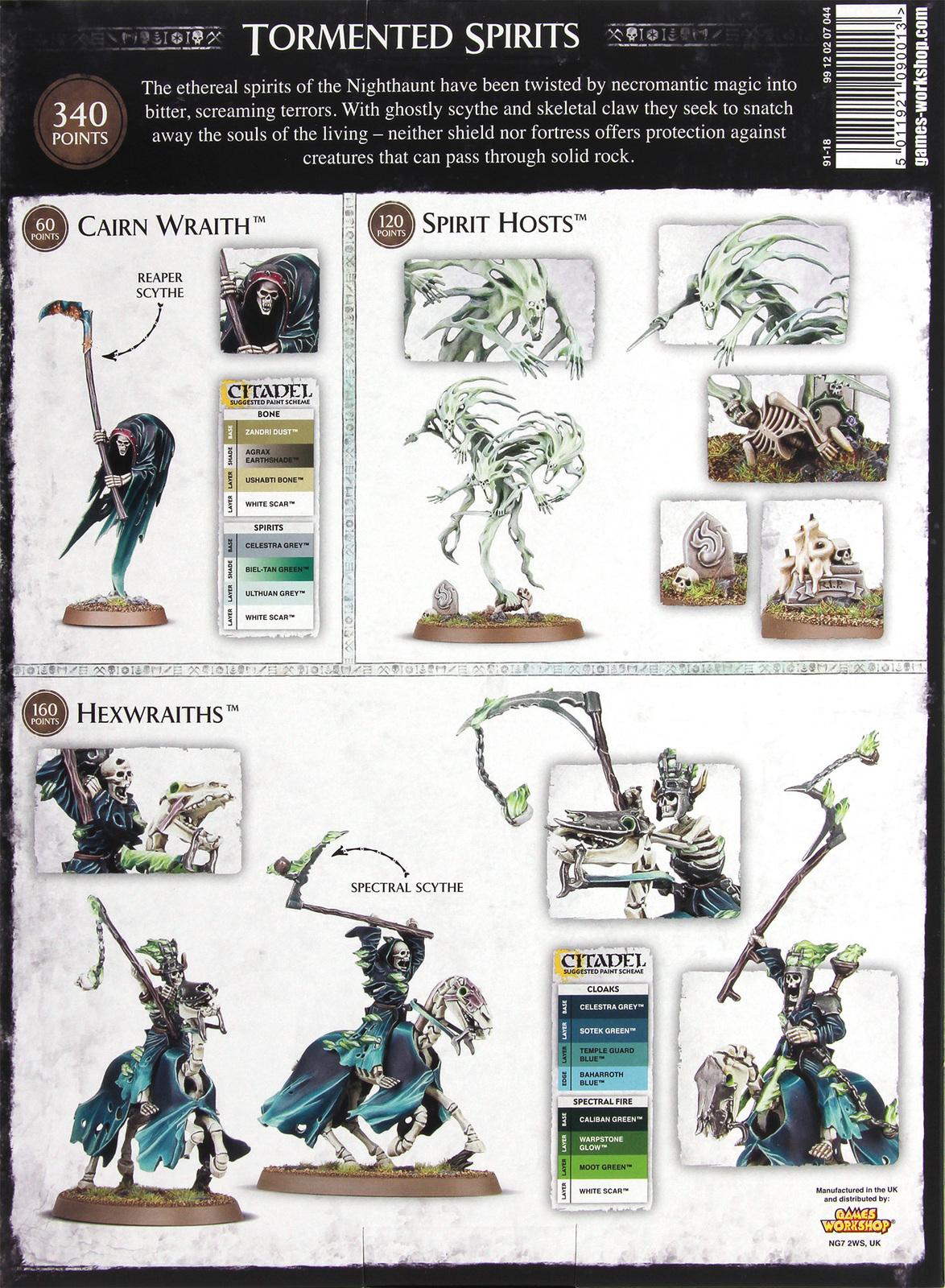Warhammer Age of Sigmar: Nighthaunt Tormented Spirits image