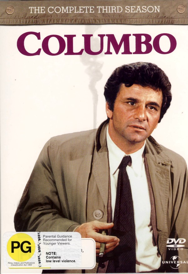 Columbo - Complete Season 3 (4 Disc Set) on DVD image