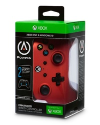 Xbox One Enhanced Wired Controller - Crimson Fade for Xbox One image