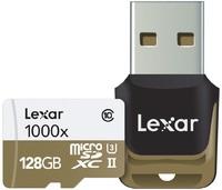 128GB Lexar Professional 1000x microSDHC/SDXC UHS-II