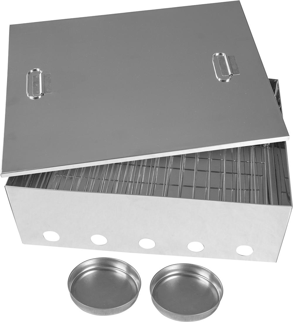 Kiwi Sizzler Large Stainless Steel Smoker image