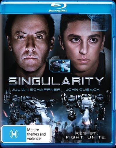Singularity on Blu-ray