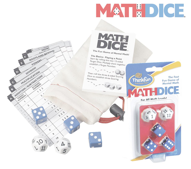 Thinkfun - Math Dice Game image