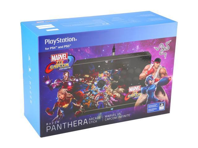 Marvel vs Capcom Razer Panthera Fight Stick (PS4, PS3, PC) for PS4 image