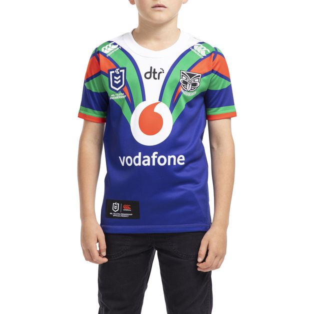 Vodafone Warriors Kids Home Jersey (14YR)