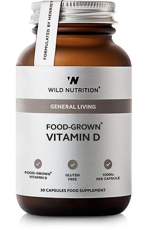 Wild Nutrition Food Grown Vitamin D (30 Caps)