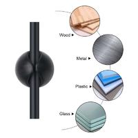 Self-Adhesive Multi Purpose Cable Clip Organiser - Black