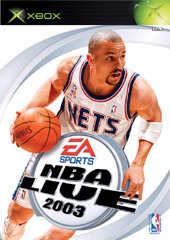 NBA Live 2003 for Xbox