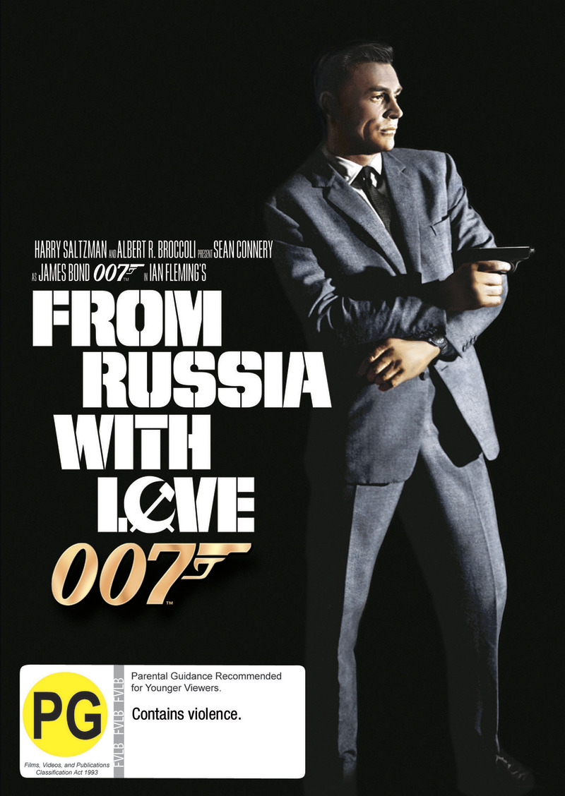 From Russia With Love (2012 Version) on DVD image