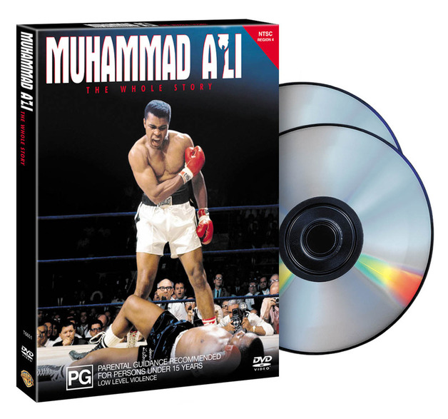 Muhammed Ali: The Whole Story (2 Disc Box Set) on DVD